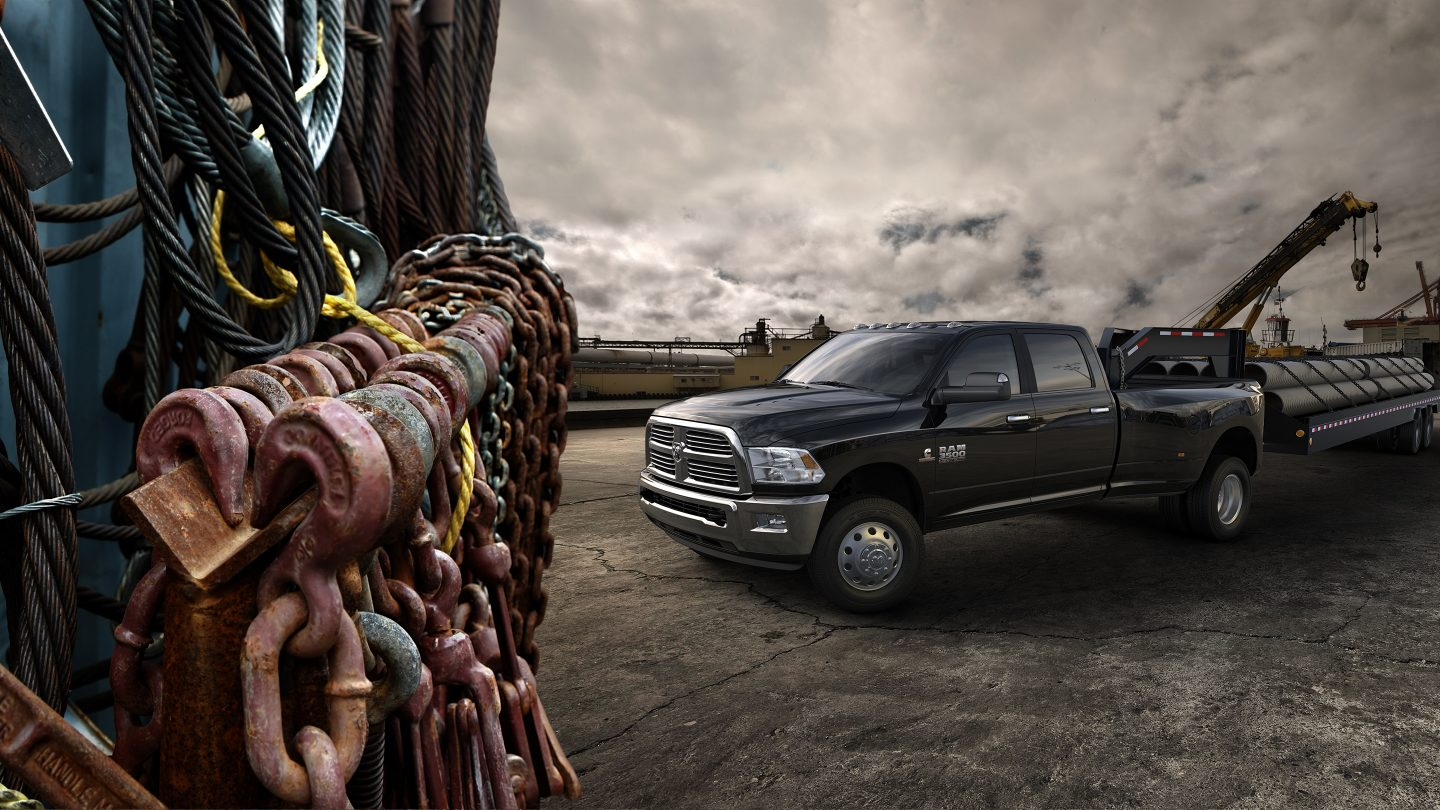 2018 Ram 3500 Gray Construction Exterior