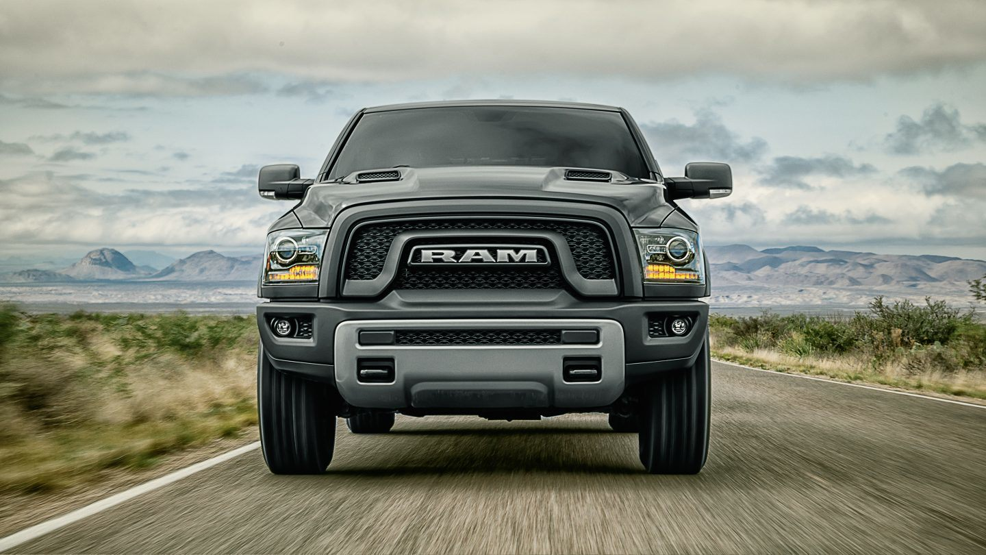 2018 Ram 1500 Front Gray Exterior