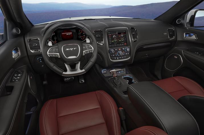 2018 Dodge Durango SRT Dashboard Interior