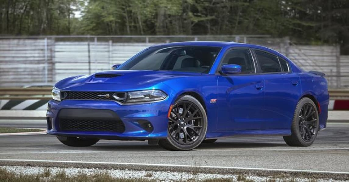2019 Dodge Charger Blue Exterior Front View Picture