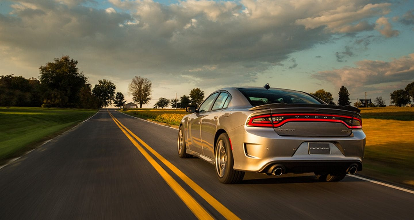 2017 Dodge Charger Silver Rear Exterior