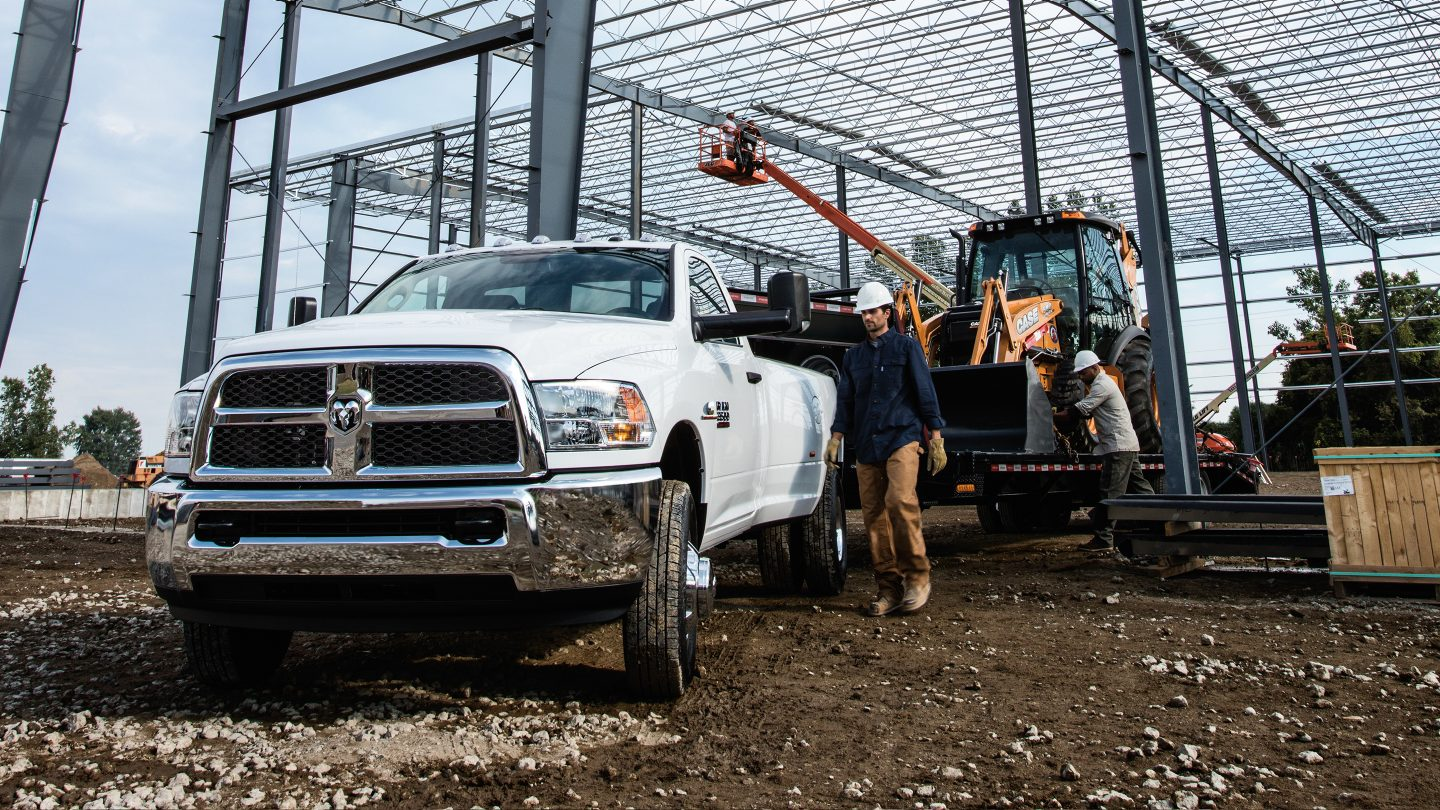 2017 Ram 3500 Heavy Duty Working Exterior
