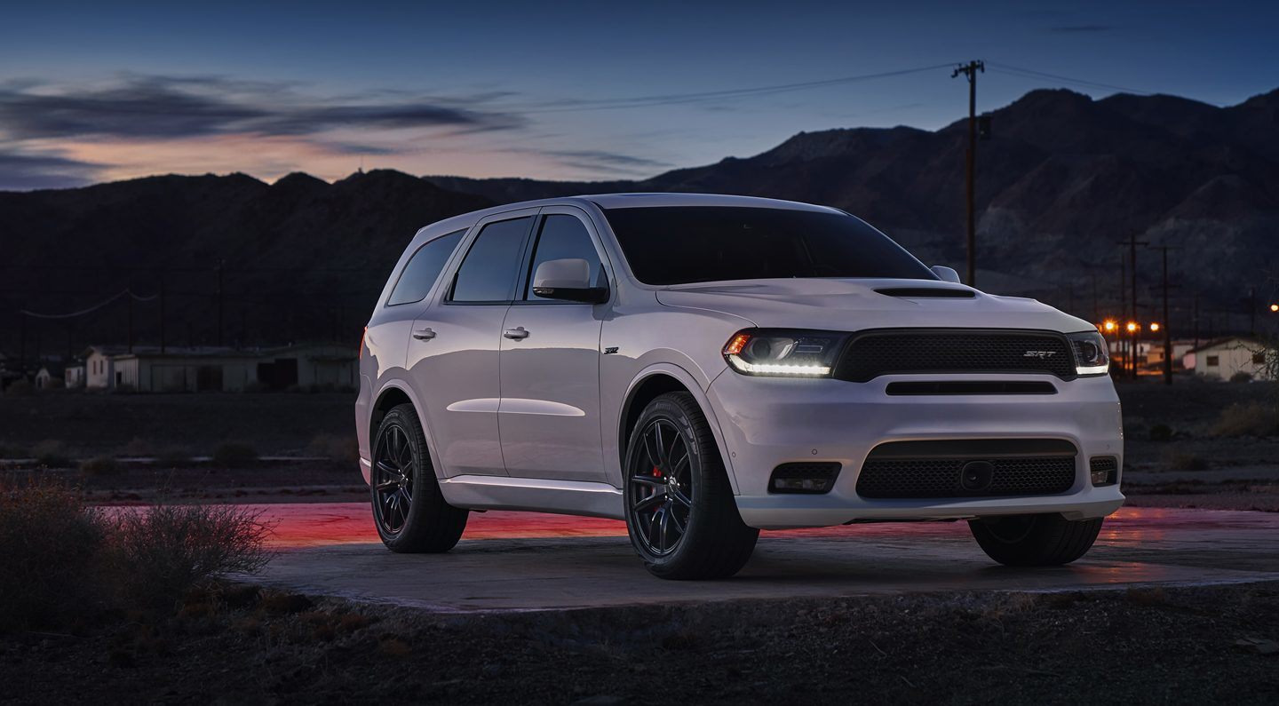 2018 Dodge Durango SRT Night White Exterior
