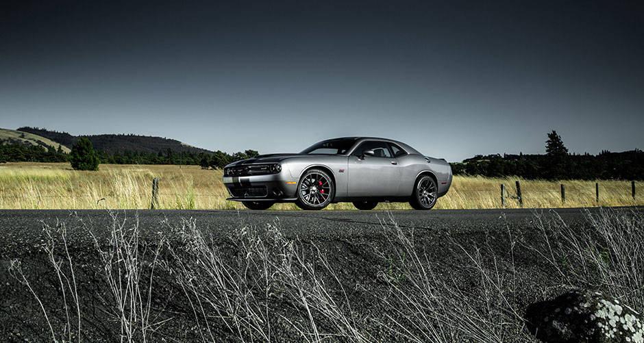 2016 Dodge Challenger Gray Exterior