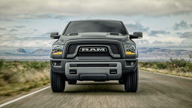 2018 Ram 1500 Front Gray Exterior