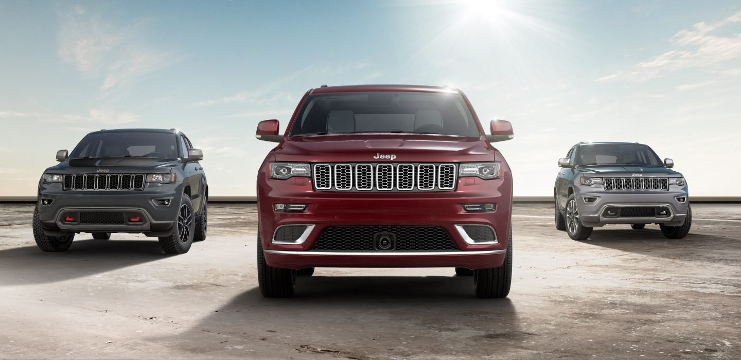2017 Jeep Grand Cherokee Red Front Exterior