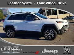 Used 2016 Jeep Cherokee Trailhawk 4x4 SUV 1C4PJMBSXGW112605 for Sale in Athens, TN
