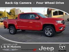 Used 2018 Chevrolet Colorado Z71 Truck Crew Cab 1GCGTDEN8J1323533 for Sale in Athens, TN