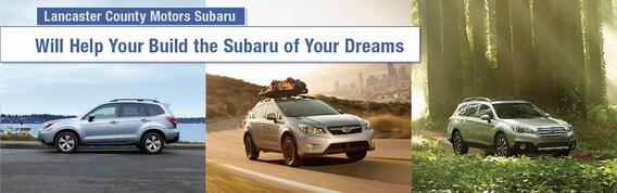 Build Your Own Subaru >> Build Your Subaru Lancaster County Motors Subaru