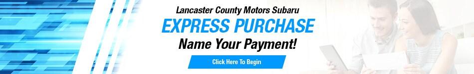 LCM Subaru Express Purchase