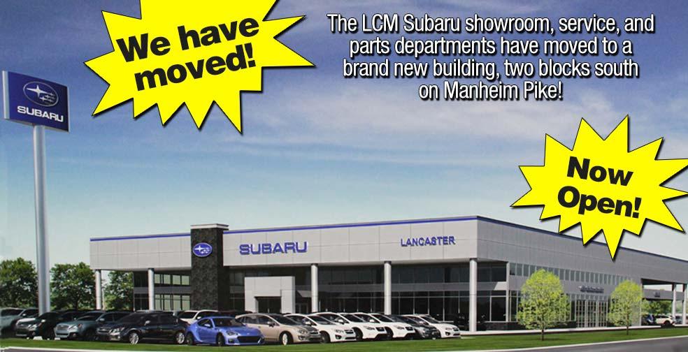 Lancaster county motors subaru new subaru dealership in for Lancaster county motors used