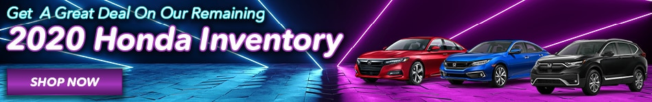 Remaining 2020 Honda Inventory