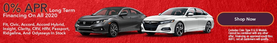 0% APR Long Term Financing On All 2020