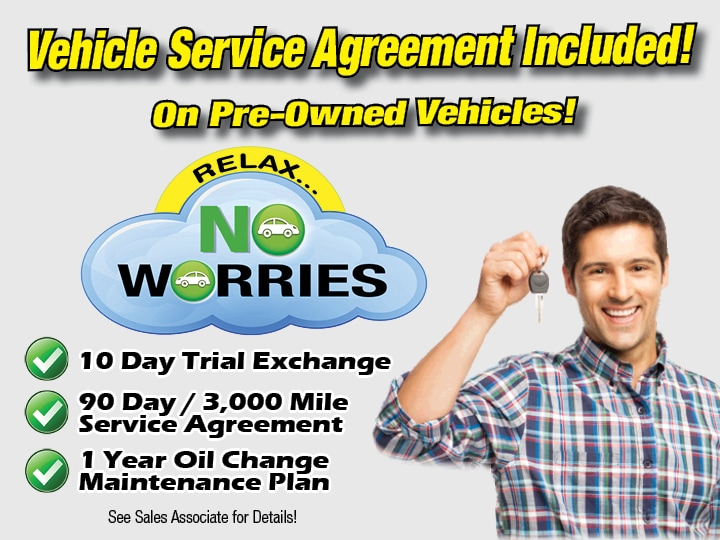 a9fc36037810b No Worries Vehicle Service Agreement