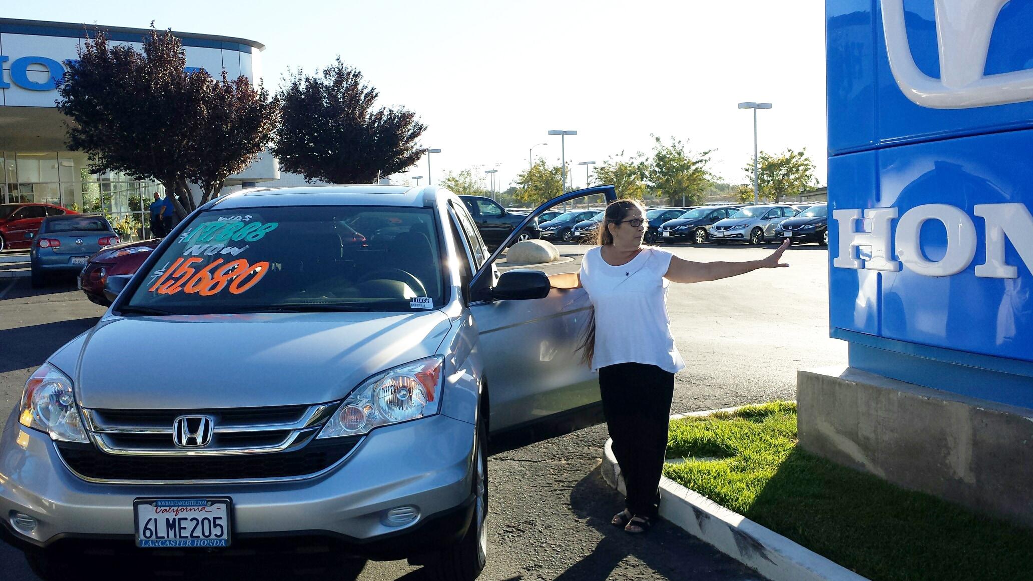 Testimonials at honda lancaster serving palmdale for Honda dealership santa barbara