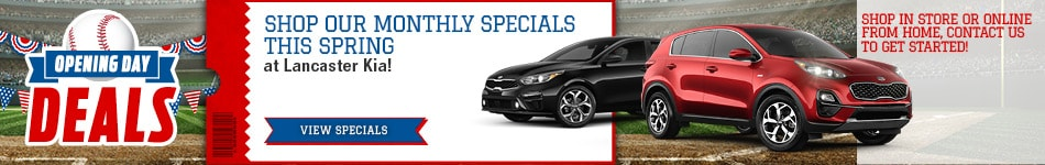 Shop Our Monthly Specials this Spring - April