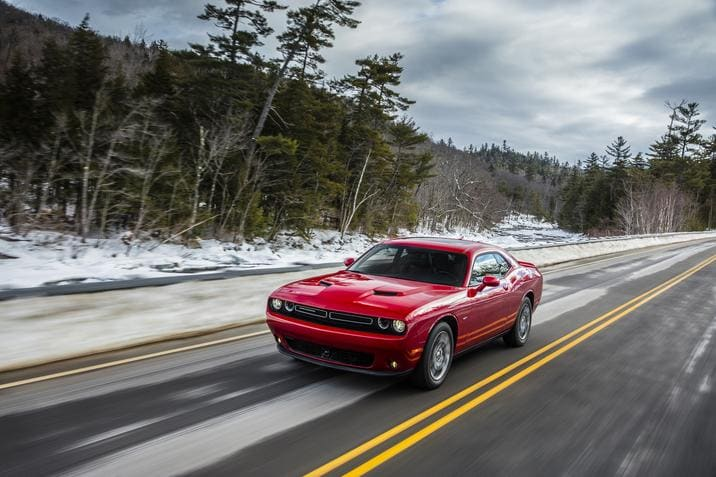 2017 Dodge Challenger GT Red Exterior Front View