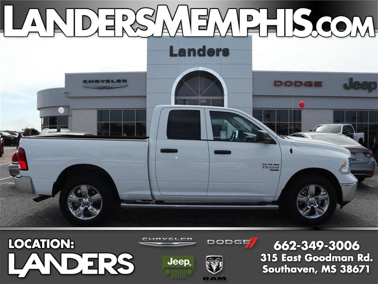Featured new  2019 Ram 1500 Classic TRADESMAN QUAD CAB 4X4 6'4 BOX Quad Cab for sale in Southaven, MS