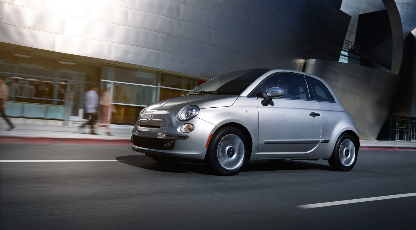 2017 FIAT 500C Silver Front Exterior