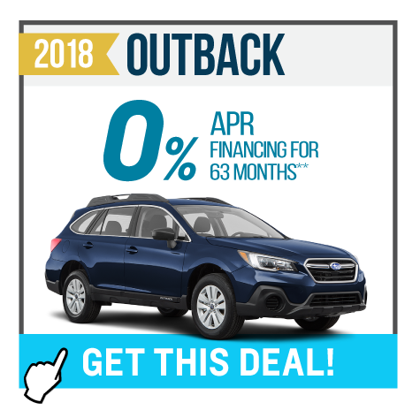2018 Outback Offer