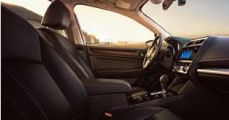 Learn about the Subaru Legacy Interior