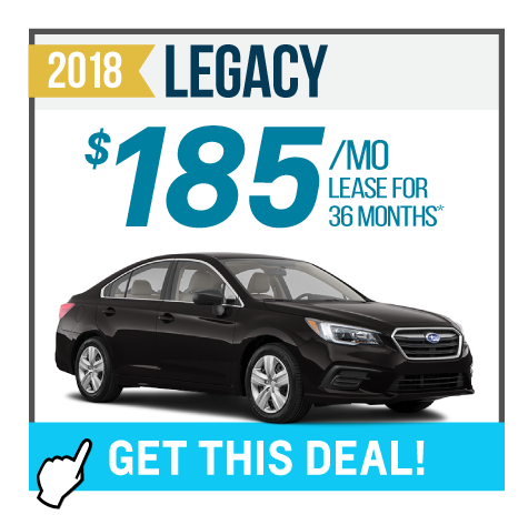 2018 Legacy Offer
