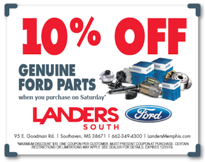 Saving on Genuine Ford Parts
