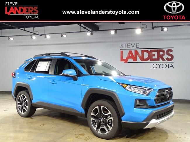 New 2019 Toyota Rav4 For Sale Little Rock Ar 2t3j1rfv1kw002251