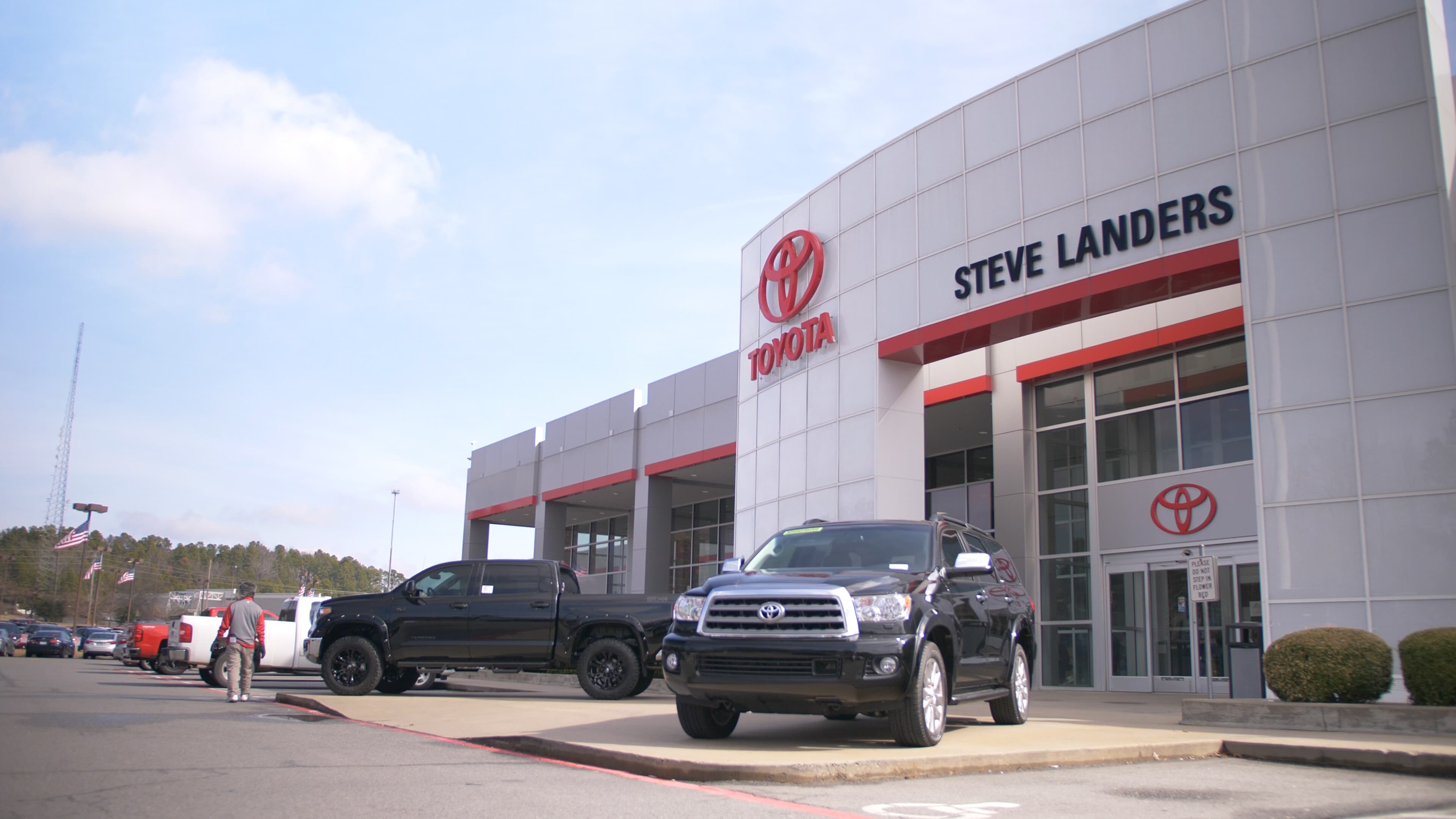 Toyota Dealers In Arkansas >> Toyota Dealership In Little Rock Ar Steve Landers Toyota