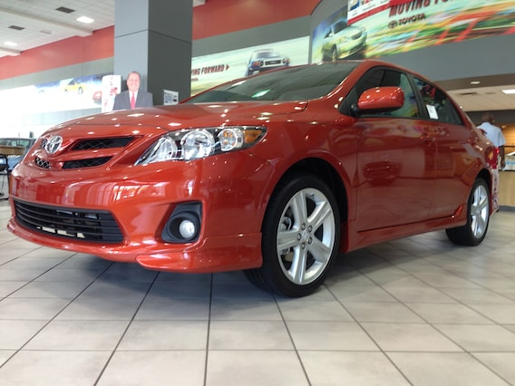 2013 Toyota Corolla S Special Edition New Toyota Dealership In