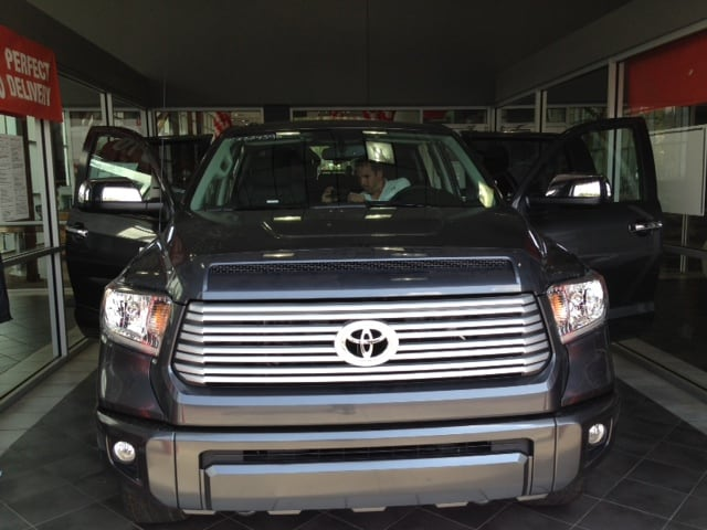 Toyota Dealers In Arkansas >> 2014 Toyota Tundra At Steve Landers Toyota New Toyota Dealership