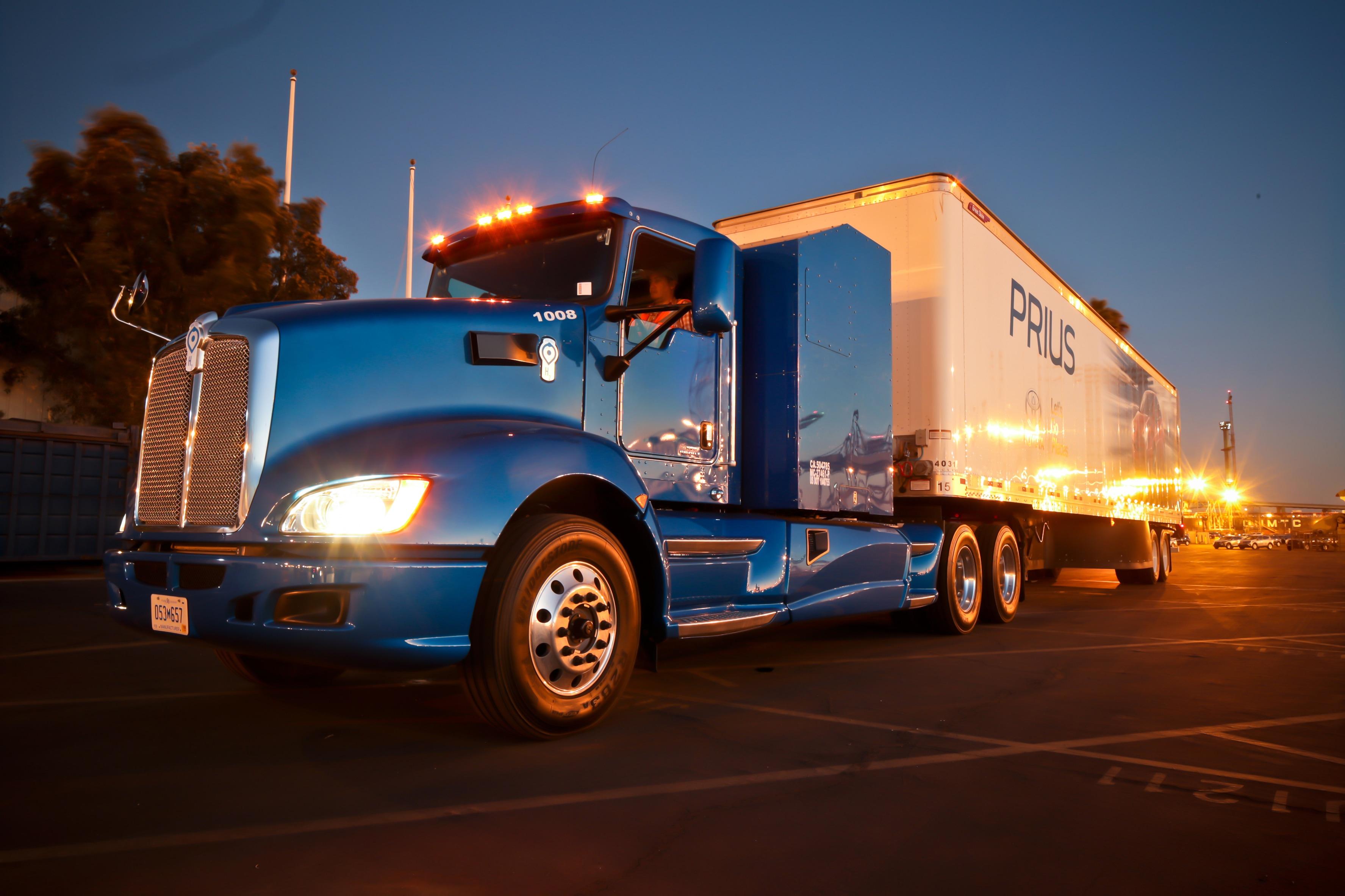 Toyota Creates Zero Emissions Truck Steve Landers Toyota