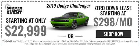 2019 Dodge Challenger Dealer Atlanta 2019 Dodge Challenger