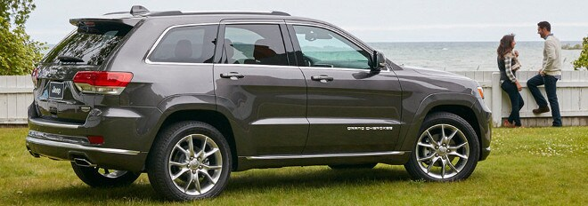 2016 Jeep Grand Cherokee Exterior Features