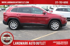 Used 2015 Jeep Cherokee 4WD Limited SUV for Sale in Springfield IL