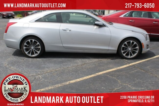 2016 Cadillac ATS Coupe Luxury Collection AWD Coupe