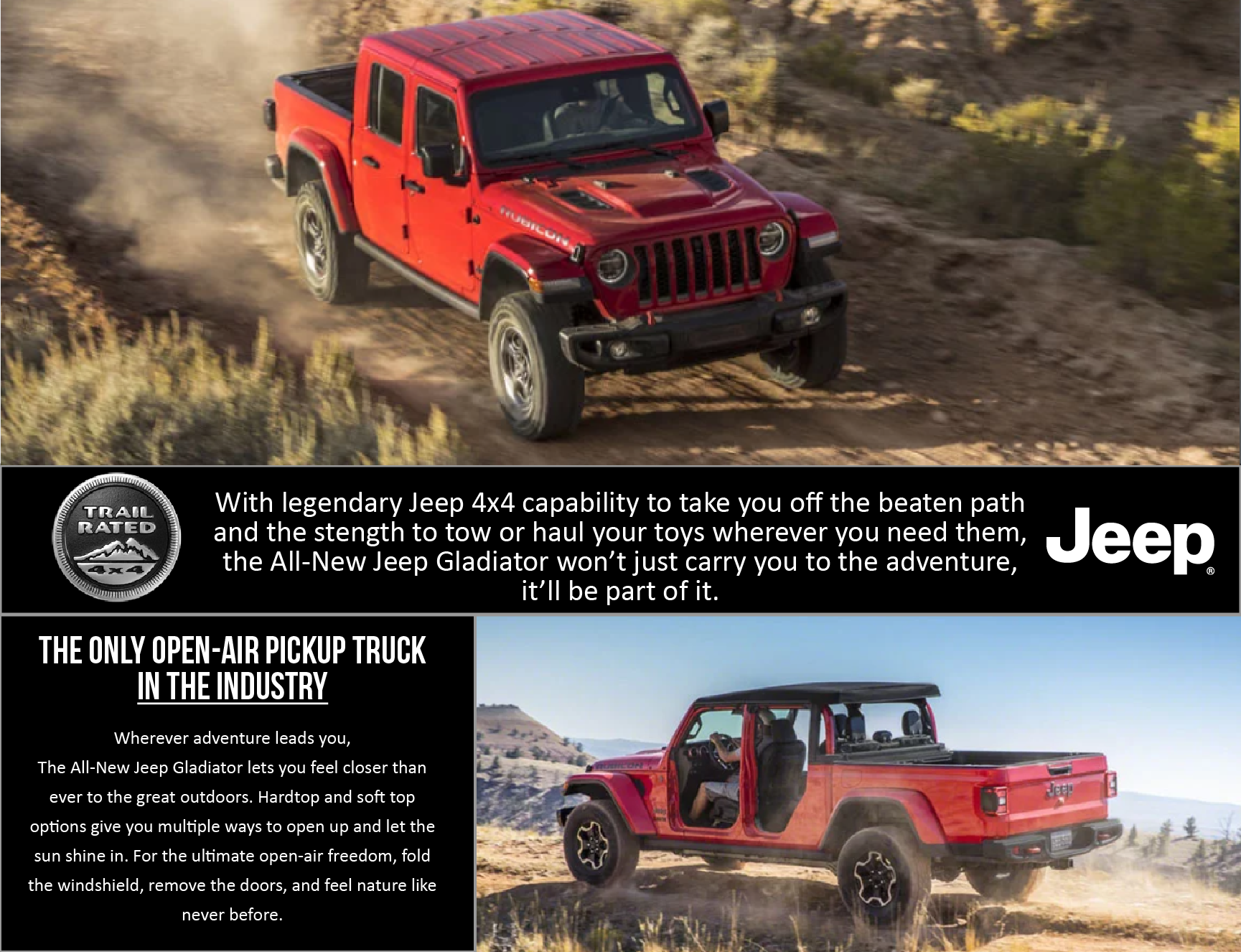 The All New 2020 Jeep Gladiator Landmark Chrysler Jeep Fiat