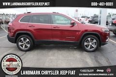 Used 2019 Jeep Cherokee 4WD Limited SUV for Sale in Springfield IL