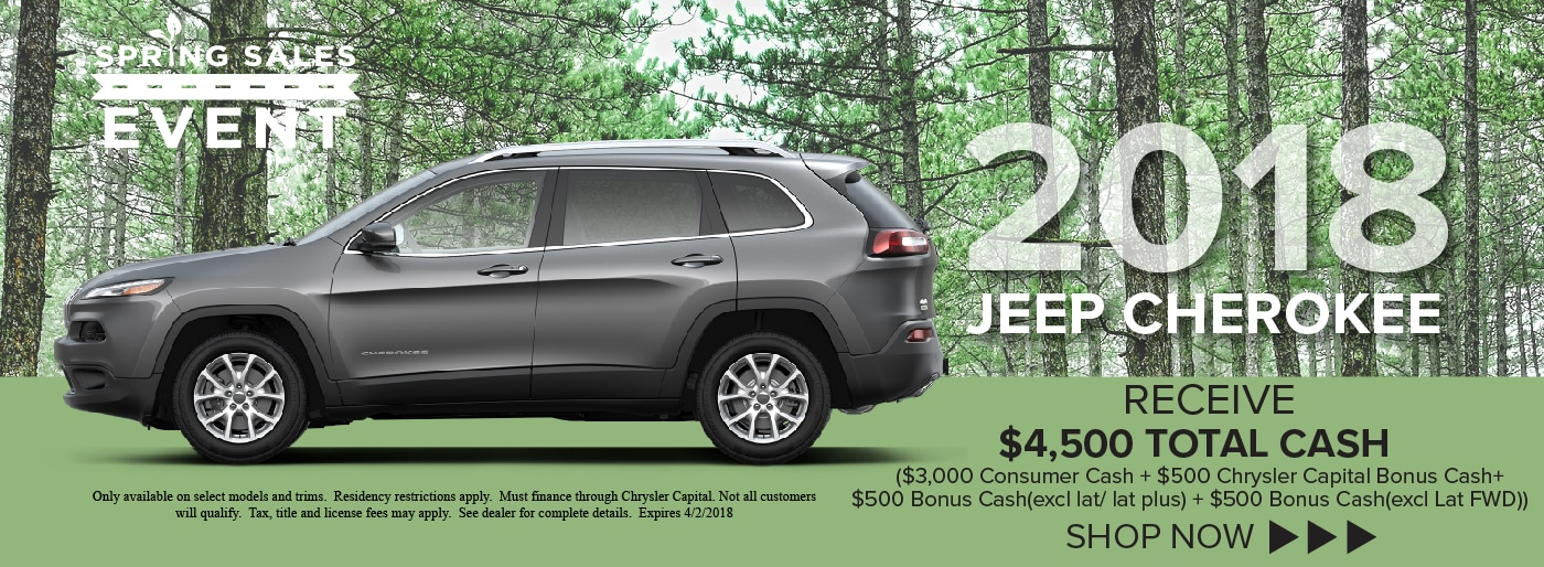 New Used Cars Landmark Chrysler Jeep FIAT Springfield IL - Chrysler capital bonus cash