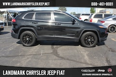 Used 2014 Jeep Cherokee 4WD Latitude SUV for Sale in Springfield IL