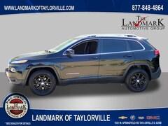Used 2018 Jeep Cherokee 4WD Latitude Plus SUV for Sale in Springfield IL