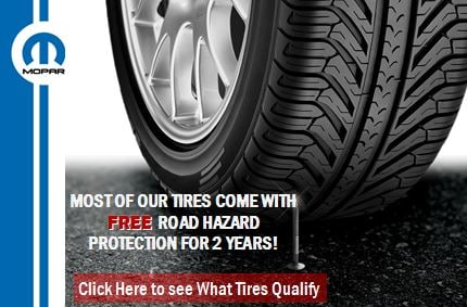 tires come with free road hazard proteciton