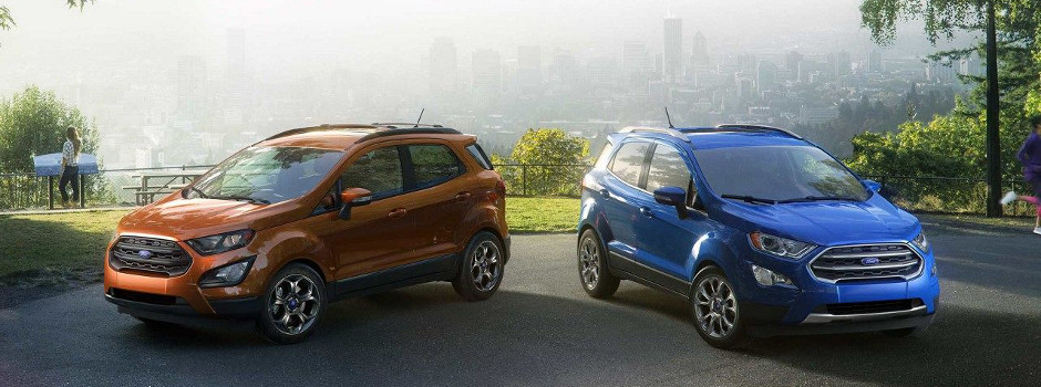 2018 Ford EcoSport Model Specs in Springfield, IL