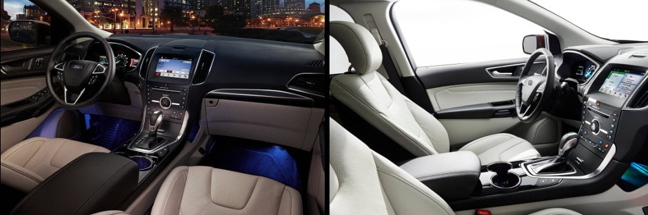Ford Edge Interior And Design In Decatur Il