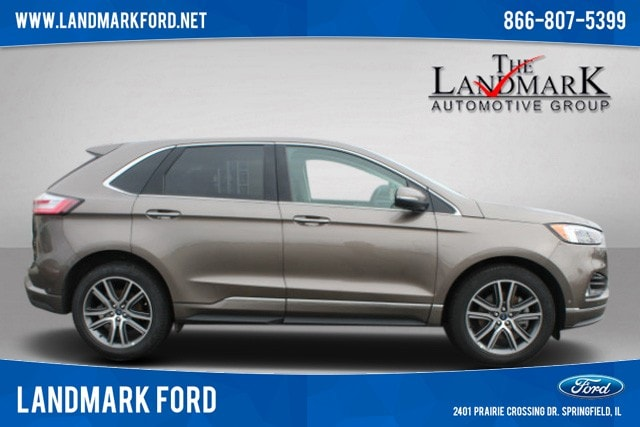2019 Ford Edge Titanium SUV for sale in Springfield, IL