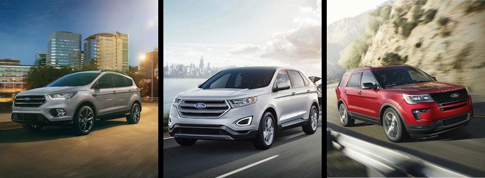 Ford Edge Vs Escape >> 2018 Ford Escape Vs Edge Vs Explorer In Springfield Il Landmark