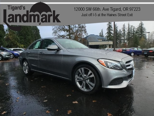 2015 Mercedes-Benz C 300 Base Sedan