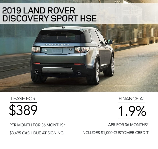 MANUFACTURER SPECIAL OFFERS & FINANCING | Land Rover Portland