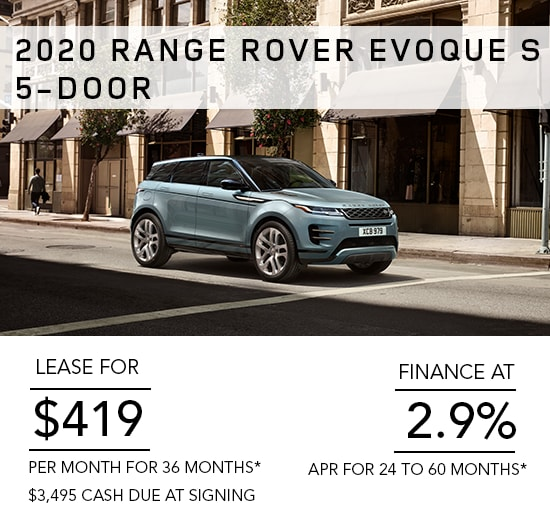 Land Rover Discovery Lease >> Manufacturer Special Offers Financing Land Rover Chicago