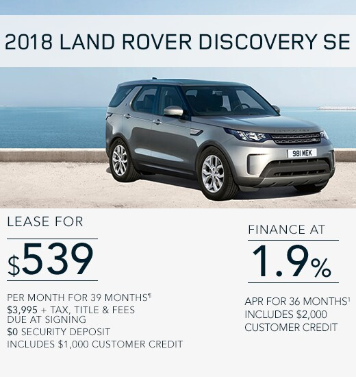 Land Rover Special Offers